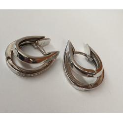 Boucles d'Oreille avec Diamant