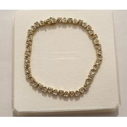 Bracelet 44 Cœurs Diamants