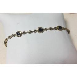 Bracelet Or avec Saphir