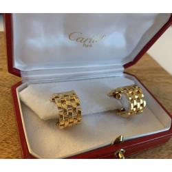 Boucles d'oreille Cartier Maillon Panthere
