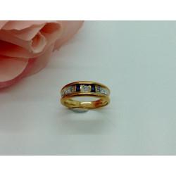 Bague 2 Ors avec Diamant et Saphir