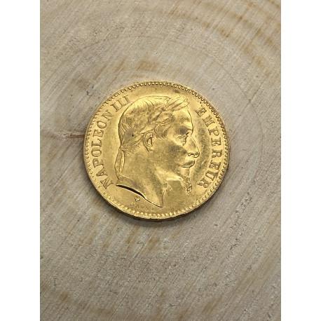 20 Francs Napoléon III Tête Laurée 1866