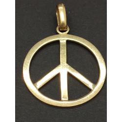 Pendentif Peace & Love