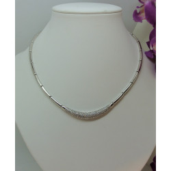 Collier Or avec Oxyde