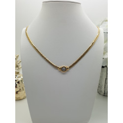Collier or jaune Diamant
