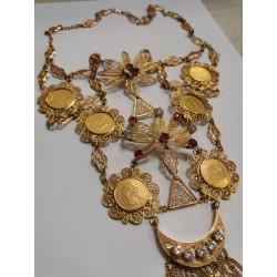 Collier Pièces D'or