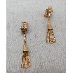 Boucles d'oreille Pompons