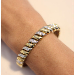 Bracelet Tiffany & Co 2 Or avec Diamant