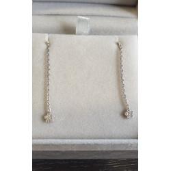 Boucles d'Oreille Stone Paris avec Diamant