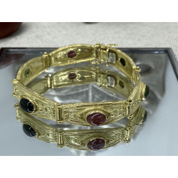 Bracelet Or avec Pierres
