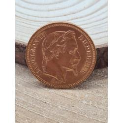 Pièce Napoléon III 20 Francs 1862