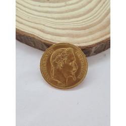 Pièce Napoléon III 20 Francs 1868