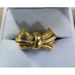 Bague Noeud or