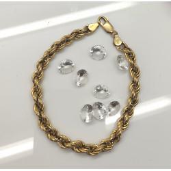 Bracelet Maille Corde