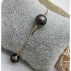 Bracelet Perles Tahiti