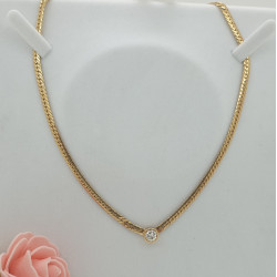 Collier diamant 0,90cts