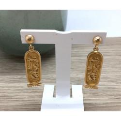Boucles d'oreille Egyptien