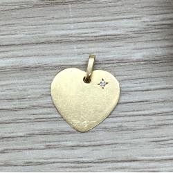 Pendentif Coeur diamant