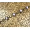 Bracelet Boules violettes