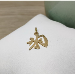 Pendentif or Chinois