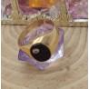 Chevalière Or avec Onyx et Diamant