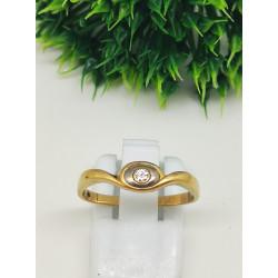 Bague 2 ors Diamant