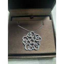 Collier Or blanc Diamant