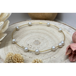 Bracelet Or avec Perle