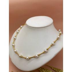 Collier Or avec Perle