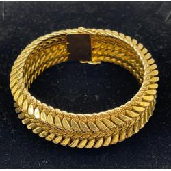 Bracelet Ruban or