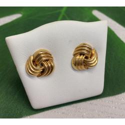 Boucles d'oreille or