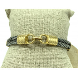 Bracelet Or Acier