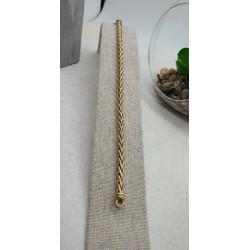 Bracelet Or Maille Palmier