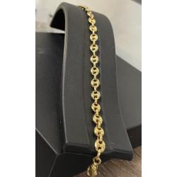 Bracelet Maille Grains de café
